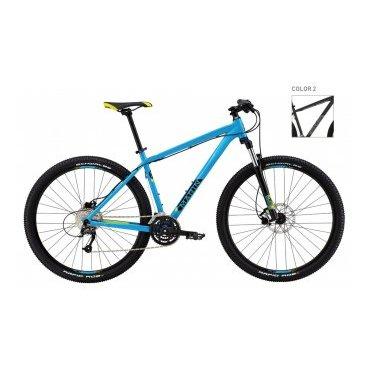 Горный велосипед MARIN BOBCAT TRAIL 9.4 2016Горные (MTB)<br>MARIN BOBCAT TRAIL 9.4 2016<br>Велосипед Marin Bobcat Trail 9.4, 29 (2016), надежный горный велосипед от Американского производителя Marin, новый стандарт колес 29, отличный накат и управляемость, подойдет как на средний рост, так и на высоких любителей велосипедного спорта, рама выполнена из прочного и легкого алюминиевого сплава, гидравлические дисковые тормоза сделают ваше катание максимально безопасным, надежное навесное оборудование японского производителя Shimano, плавное и точное переключение в любых условиях, амортизационная вилка с возможностью регулировки жесткости сгладит все неровности дорожного покрытия и снизит нагрузку на позвоночный столб, усиленные колеса.<br><br><br><br><br><br><br>Общие характеристики<br><br><br>Модель<br>2016 года<br><br><br>Тип<br>для взрослых<br><br><br>Область применения<br>горный (MTB), кросс-кантри<br><br><br>Вес велосипеда<br>14.24 кг<br><br><br>Рама, вилка<br><br><br>Материал рамы<br>алюминиевый сплав<br><br><br>Амортизация<br>Hard tail (с амортизационной вилкой)<br><br><br>Наименование мягкой вилки<br>SR Suntour XCM-LO 29<br><br><br>Конструкция вилки<br>пружинно-масляная<br><br><br>Уровень мягкой вилки<br>спортивный<br><br><br>Ход вилки<br>100 мм<br><br><br>Регулировки вилки<br>жесткости пружины, блокировка хода<br><br><br>Конструкция рулевой колонки<br>полуинтегрированная, безрезьбовая<br><br><br>Размер рулевой колонки<br>1 1/8<br><br><br>Колеса<br><br><br>Диаметр колес<br>29 дюймов<br><br><br>Наименование покрышек<br>Schwalbe Rapid Rob, 29x2.25<br><br><br>Наименование ободов<br>Maddux<br><br><br>Материал обода<br>алюминиевый сплав<br><br><br>Двойной обод<br>есть<br><br><br>Торможение<br><br><br>Наименование переднего тормоза<br>Tektro Auriga, 180mm<br><br><br>Тип переднего тормоза<br>дисковый гидравлический<br><br><br>Уровень переднего тормоза<br>спортивный<br><br><br>Наименование заднего тормоза<br>Tektro Auriga, 180mm<br><br><br>Тип заднего тормоза<br>дисковы