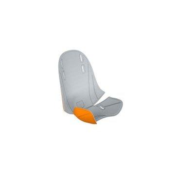 Вкладыш для велосидения Thule RideAlong Mini, серо-оранжевый, 100404Детское велокресло<br>Сделайте ваш Thule RideAlong Mini индивидуальным с помощью двухцветных заменяющихся подкладок.<br><br>Легко стирается и чистится благодаря водоотталкивающим свойствам.<br>Два цветовых исполнения: светло-серый с оранжевым или темно-серый с фиолетовым<br>