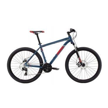 Горный велосипед MARIN BOLINAS RIDGE 7.2 2016Горные (MTB)<br>MARIN BOLINAS RIDGE 7.2 2016<br>Велосипед Marin Bolinas Ridge 7.2 (2016), надежный горный велосипед на 27.5 для прогулочного катания в лесу и городе, рама выполнена из прочного и легкого алюминиевого сплава, амортизационная вилка сгладит все неровности дорожного покрытия и снизит нагрузку на позвоночный столб, механические дисковые тормоза, надежное навесное оборудование Японского производителя Shimano, плавное и точное переключение в любых условиях.<br><br><br><br><br><br>Общие характеристики<br><br><br>Модель<br>2016 года<br><br><br>Тип<br>для взрослых<br><br><br>Область применения<br>горный (MTB), кросс-кантри<br><br><br>Вес велосипеда<br>14.45 кг кг<br><br><br>Рама, вилка<br><br><br>Материал рамы<br>алюминиевый сплав<br><br><br>Амортизация<br>Hard tail (с амортизационной вилкой)<br><br><br>Наименование мягкой вилки<br>SR Suntour XCT-HLO 27.5<br><br><br>Конструкция вилки<br>пружинно-масляная<br><br><br>Уровень мягкой вилки<br>спортивный<br><br><br>Ход вилки<br>100 мм<br><br><br>Регулировки вилки<br>жесткости пружины, блокировка хода<br><br>Конструкция рулевой колонки<br>полуинтегрированная, безрезьбовая<br><br><br>Размер рулевой колонки<br>1 1/8<br><br><br>Колеса<br><br><br>Диаметр колес<br>27.5 дюймов<br><br><br>Наименование покрышек<br>Vee Tire Galaxy, 27.5x2.1<br><br><br>Наименование ободов<br>Maddux<br><br><br>Материал обода<br>алюминиевый сплав<br><br><br>Двойной обод<br>есть<br><br><br>Торможение<br><br><br>Наименование переднего тормоза<br>Tektro Aires, 180mm<br><br><br>Тип переднего тормоза<br>дисковый механический<br><br><br>Уровень переднего тормоза<br>прогулочный<br><br><br>Наименование заднего тормоза<br>Tektro Aires, 160mm<br><br><br>Тип заднего тормоза<br>дисковый механический<br><br><br>Уровень заднего тормоза<br>прогулочный<br><br><br>Трансмиссия<br><br><br>Количество скоростей<br>24<br><br><br>Уровень заднего переключателя<br>прогулочный<br><br><br>Наименование заднего переключателя<br>