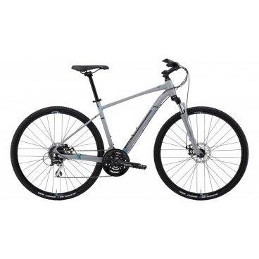 Гибридный велосипед MARIN San Rafael DS2 2015Гибридные<br>MARIN San Rafael DS2 2015<br>Гибридная модель велосипеда San Rafael DS2 прекрасно подойдет для взрослых. Велосипед прослужит вам долго и качественно. Поехать на работу или прокатиться по городу - этот велосипед двойного назначения идеально справится с такими задачами, плюс ко всему он прекрасно подойдет для многодневных прогулок. <br><br><br><br><br><br><br><br>Общие характеристики<br><br><br>Модель<br>2015 года<br><br><br>Тип<br>для взрослых<br><br><br>Область применения<br>горный гибрид<br><br><br>Вес велосипеда<br>13.2 кг <br><br><br>Рама, вилка<br><br><br>Материал рамы<br>алюминиевый сплав<br><br><br>Размеры рамы<br>15, 17, 19, 20,5, 22<br><br><br>Амортизация<br>Hard tail (с амортизационной вилкой)<br><br><br>Наименование мягкой вилки<br>SR Suntour NEX-HLO<br><br><br>Конструкция вилки<br>пружинно-масляная<br><br><br>Уровень мягкой вилки<br>спортивный<br><br><br>Ход вилки<br>63 мм<br><br><br>Регулировки вилки<br>жесткости пружины, блокировка хода<br><br><br>Конструкция рулевой колонки<br>полуинтегрированная, безрезьбовая<br><br><br>Размер рулевой колонки<br>1 1/8<br><br><br>Колеса<br><br><br>Диаметр колес<br>28 дюймов<br><br><br>Наименование покрышек<br>Schwable Smart Sam, 700x40c, K-Guard<br><br><br>Наименование ободов<br>Maddux JD200<br><br><br>Материал обода<br>алюминиевый сплав<br><br><br>Двойной обод<br>есть<br><br><br>Торможение<br><br><br>Наименование переднего тормоза<br>Tektro Aires, 160mm<br><br><br>Тип переднего тормоза<br>дисковый механический<br><br><br>Уровень переднего тормоза<br>прогулочный<br><br><br>Наименование заднего тормоза<br>Tektro Aires, 160mm<br><br><br>Тип заднего тормоза<br>дисковый механический<br><br><br>Уровень заднего тормоза<br>прогулочный<br><br><br>Возможность крепления дискового тормоза<br>рама, вилка, втулки<br><br><br>Трансмиссия<br><br><br>Количество скоростей<br>24<br><br><br>Уровень заднего переключателя<br>прогулочный<br><br><br>Наименование заднего переключателя<b