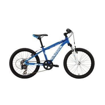 Подростковый велосипед MARIN Hidden Canyon 20 Boys 2016Подростковые<br>MARIN Hidden Canyon 20 Boys 2016<br>Горный велосипед Hidden Canyon 20 Boys предназначен специально для подростков.Модель велосипеда прослужит вам долго и качественно.<br><br><br><br><br><br>Общие характеристики<br><br><br>Модель<br>2016 года<br><br><br>Тип<br>подростковый<br><br><br>Возраст ребенка<br>6 - 9 лет (рост до 135 см)<br><br><br>Область применения<br>горный (MTB), кросс-кантри<br><br><br>Вес велосипеда<br>10.9 кг<br><br><br>Рама, вилка<br><br><br>Материал рамы<br>алюминиевый сплав<br><br><br>Размеры рамы<br>12<br><br><br>Амортизация<br>Hard tail (с амортизационной вилкой)<br><br><br>Наименование мягкой вилки<br>SR Suntour M3010-20<br><br><br>Конструкция вилки<br>пружинно-эластомерная<br><br><br>Уровень мягкой вилки<br>прогулочный<br><br><br>Ход вилки<br>40 мм<br><br><br>Конструкция рулевой колонки<br>неинтегрированная, безрезьбовая<br><br><br>Колеса<br><br><br>Диаметр колес<br>20 дюймов<br><br><br>Наименование покрышек<br>Schwalbe Little Joe, 20x2.0<br><br><br>Наименование ободов<br>Maddux<br><br><br>Материал обода<br>алюминиевый сплав<br><br><br>Двойной обод<br>есть<br><br><br>Материал бортировочного шнура<br>металл<br><br><br>Торможение<br><br><br>Уровень переднего тормоза<br>прогулочный<br><br><br>Наименование переднего тормоза<br>Forged Alloy Linear Pull<br><br><br>Тип переднего тормоза<br>V-Brake<br><br><br>Уровень заднего тормоза<br>прогулочный<br><br><br>Наименование заднего тормоза<br>Forged Alloy Linear Pull<br><br><br>Тип заднего тормоза<br>V-Brake<br><br><br>Трансмиссия<br><br><br>Количество скоростей<br>7<br><br><br>Уровень заднего переключателя<br>начальный<br><br><br>Наименование заднего переключателя<br>Shimano Tourney<br><br><br>Уровень манеток<br>начальные<br><br><br>Наименование манеток<br>Shimano Revo Twist 7-Speed<br><br><br>Конструкция манеток<br>вращающаяся ручка<br><br><br>Уровень каретки<br>прогулочные<br><br><br>Наименование каретки<br>Sealed Cartridge<br><br><b