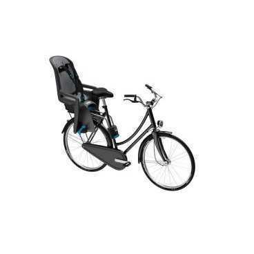 Детское велосипедное сидение Thule RideAlong New, заднее, серый, 100107Детское велокресло<br>Thule RideAlong представляет умные инновационные решения, реализованные в интуитивно понятное, безопасное и легкое в использовании детское велосипедное сиденье для крепления сзади, которое выведет ваши ежедневные прогулки или семейные поездки на велосипеде на следующий уровень.<br><br>Мягкие ремни безопасности с надежным регулируемым креплением обеспечивают максимальный комфорт ребенка.<br><br>Система крепления DualBeam смягчает удары от неровностей дороги, обеспечивая комфорт ребенка во время поездки.<br><br>Отклонение до 20° одной рукой, 5 различных позиций.<br><br>Регулируемые одной рукой ремни и подставки для ног обеспечивают комфорт ребенку; рассчитаны на детей разного возраста.<br><br>Универсальная быстросъемная опора позволяет устанавливать и снимать сидение с велосипеда за считанные секунды. Кроме того, она совместима с большинством велосипедных рам (с круглыми рамами диаметром 27,2–40 мм и овальным рамами до 40 x 55 мм).<br><br>Ремень с большими кнопками, оснащенный защитой от детей, обеспечит безопасность вашего ребенка<br><br>Съемная водонепроницаемая прокладка подходит для машинной стирки; прокладка двусторонняя, две стороны оформлены разным цветом.<br><br>Встроенный рефлектор и точка крепления со световым индикаторов обеспечивают дополнительную видимость.<br><br>Запирается при помощи системы Thule One-Key System, использующей один ключ (фиксатор (замок) включен в комплект поставки).<br><br>Разработано и протестировано для детей от 9 месяцев* до 6 лет, весом до 22 кг. (*Обратитесь к педиатру, если ребенку менее 1 года).<br><br>Соответствует международным стандартам безопасности.<br><br> Высота спинки:47смШирина спинки:27 смДлина сиденья:17 смДиаметр замка:40-27.2мм/ 155ммРасстояние между усами крепления:86мм<br>