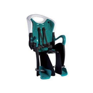 Велокресло детское BELLELLI Tiger Standard B-Fix, заднее, под седло, чёрное, 01TGTSB0020Детское велокресло<br>Велокресло BELLELLI  Tiger Standard B-Fix  - новинка 2016 года от BELLELLI. Крепление этого кресла обладает дополнительной опцией «контроль», что защищает велокресло от кражи, т.к без специального ключа снять или установить его невозможно.  <br><br>Отличие кресла Tiger Standard BELLELLI B-Fix от других кресел этой марки - возможность регулировки спинки по высоте. По мере роста ребенка Вы сможете увеличить высоту кресла.<br><br>Присутствие элементов защиты - обязательно для велокресел марки BELLELLI. Это защита ног от контакта с колесом, гибкий стальной держатель для снижения нагрузки на позвоночник, защелка ремней безопасности, расстегнуть которую ребенок самостоятельно не сможет.<br><br>    Материал: пластик.<br>    Материал креплений: пластик/сталь.<br>    Крепление B-Fix: это крепление на раму велосипеда, под седлом, также крепление совместимо с передними креслами, устанавливающимися на рулевую колонку и нижнюю трубу рамы.<br>    Установка кресла: на подседельную трубу велосипеда.<br>    Приблизительный возраст ребёнка: ~ от 1 года до 7 лет.<br>    Вес ребёнка: до 22 кг.<br>    Диаметр колёс взрослого велосипеда: от 26 до 28.<br>    Замки: baby control (с секретом).<br>    Регулировка ремней: есть.<br>    Защитная платформа для ног с регулировкой: есть.<br>    Регулировка высоты спинки: есть.<br>    В комплекте: замок.<br>    Варианты расцветок: черно-оранжевое, черно-серебрянное, белое.<br>    Европейский сертификат качества TUV.<br>    Стандарт безопасности: EN 14344.<br>