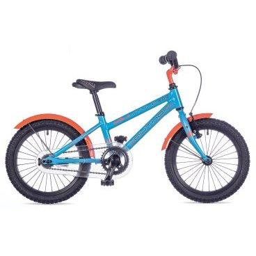 Детский велосипед AUTHOR Stylo 2017Детские<br>AUTHOR STYLO 2017<br><br>Детский велосипед, легкий и красивый! Author Stylo подходит для детей ростом от 100 до 125 см, имеет надежную алюминиевую раму и металлические крылья. Руль и сиденье имеют регулировку по высоте. Author Stylo выпускается в двух привлекательных расцветках. Также в комплекте идут приставные колесики, которые можно снять, когда ребенок научится уверенно держать равновесие.<br><br><br><br><br><br>Общие характеристики<br><br><br>Модель<br>2017 года<br><br><br>Тип<br>детский<br><br><br>Область применения<br>городской<br><br><br>Рама, вилка<br><br><br>Материал рамы<br>алюминий<br><br><br>Амортизация<br>отсутствует<br><br><br>Конструкция мягкой вилки<br>жесткая<br><br><br>Рулевая колонка<br>VP COMP 1<br><br><br>Колеса<br><br><br>Диаметр колес<br>16 дюймов<br><br><br>Наименование покрышек<br>16 x 1.75<br><br><br>Наименование ободов<br>alloy 28 holes<br><br><br>Торможение<br><br><br>Наименование переднего тормоза<br>TEKTRO V<br><br><br>Тип переднего тормоза<br>ободной <br><br><br>Тип заднего тормоза<br>ножной<br><br><br>Трансмиссия<br><br><br>Количество скоростей<br>1<br><br><br>Наименование заднего переключателя<br>отсутствует<br><br><br>Наименование переднего переключателя<br>отсутствует<br><br>Наименование манеток<br>отсутствует<br><br><br>Наименование каретки<br>VP COMP<br><br><br>Наименование кассеты<br>coasterhub 16T<br><br><br>Количество звезд в кассете<br>1<br><br><br>Система<br>PROWHEEL 32 teeth 102 mm cranks<br><br><br>Конструкция педалей<br>классические<br><br><br>Руль<br><br><br>Конструкция руля<br>изогнутый<br>