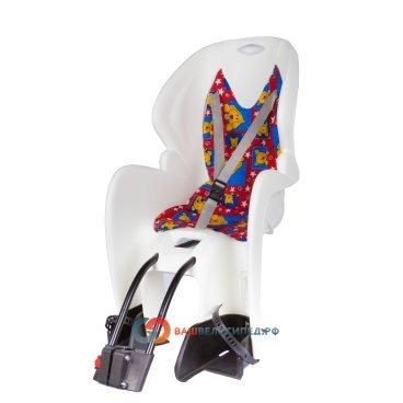 Детское велокресло на подседельный штырь M-WAVE белое до 7лет/22кг 5-259867Детское велокресло<br>Детское велокресло M-WAVE на подседельный штырь. <br>Крепится к подседельной трубе<br> Сиденье оснащено системой 3х точечных ремней безопасности,которые надёжно зафиксируют вашего ребенка, защитой и удерживающими устройствами для ног с 4 позицями регулировки подножек.<br> Рекомендуемый вес ребенка 9-22кг, возраст 1-7 лет.<br> Технические характеристики:<br> Быстрая и удобная установка<br> Надёжные ремни с системой 3х точечного контактирования<br> Цвет : белый<br> Страна производитель Италия<br>Высота спинки:46.5смШирина спинки:30.5смШирина сиденья:30смДлина сиденья:19см<br><br><br>Артикул 5-259867<br>