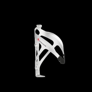 Флягодержатель на велосипед Kross Race CL-079L, серебряный, алюминий-пластик, T4CKZBI0048SIФляги и Флягодержатели<br>Держатель для фляги  производителя Kross изготовлен из пластика и алюминия. Продуманная форма обеспечивает надежный захват фляги, одновременно дает удобный доступ. <br> Характеристики <br>Материал: алюминий и пластмасса <br>Монтаж: 2 винта <br>Вес: 24 г<br>Цвет: серебряный<br>