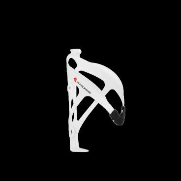 Флягодержатель на велосипед Kross Race CL-079L, белый, алюминий-пластик, T4CKZBI0048WHФляги и Флягодержатели<br>Держатель для фляги  производителя Kross изготовлен из пластика и алюминия. Продуманная форма обеспечивает надежный захват фляги, одновременно дает удобный доступ. <br> Характеристики <br>Материал: алюминий и пластмасса <br>Монтаж: 2 винта <br>Вес: 24 г<br>Цвет: белый<br>