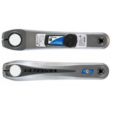 Измеритель мощности Stages для Shimano Ultegra 6700, 175 mm, серый, 901-1018Велоинструменты<br>Измеритель мощности совместимый с шатунами Shimano Ultegra 6700. Опция монтируется вместо стандартного шатуна.<br>Для райдеров которые ищут возможность добавить измеритель мощности к существующей системе, нужно только, чтобы длина шатуна соответствовала установленной у Вас Ultegra 6700<br>ДОПОЛНИТЕЛЬНЫЕ ВОЗМОЖНОСТИ<br>Лёгкая замена батареи<br>Измерение частоты вращения педалей на основе акселерометра<br>Беспроводное обновление прошивки<br> Характеристики <br><br>Точность: ± 2%<br>Длина: 175 MM<br>Добавляет только 20гр к базовому весу шатуна<br>Срок службы батареи: 200 + часов (CR2032)<br>Диапазон мощности (Вт): от 0 до 2500<br>Диапазон каденса (оборотов в минуту): 20-220<br>Рейтинг Водонепроницаемости: IPX7<br>Совместимость с рамами: Большинство моделей, руководство доступно на сайте производителя<br>Совместимость шатунов: Все шоссейные шатуны Shimano Hollowtech II<br>Совместимость устройств: ANT +, Bluetooth Smart Ready<br>Совместимое программное обеспечение: Training Peaks, Strava, Garmin Training Center и другие<br>