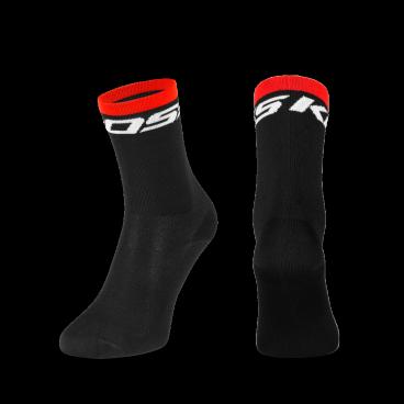 Носки Kross KRT TALL, размер M, черный, T4COD000283MBKВелоноски<br>Классические носки, которые идеально подходят для шоссейной езды. Изготовлены из эластичного материала, легко принимают форму ступни. Идеально подходящая ткань обеспечивает вентиляцию на сложных подъемах и высокоскоростных спусках.<br>Размер: L<br>Цвет: черный<br>