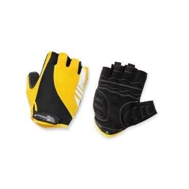 Перчатки Kross NIZER, размер XL, желтый, T4COD000232XLYLВелоперчатки<br>Размер: XL<br>Цвет: желтый<br>