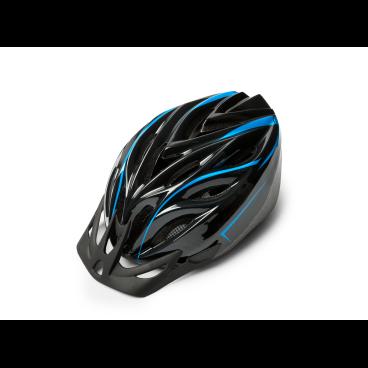 Велошлем Kross COMFY, размер L(58-61), черный, T4CKS000064LBKВелошлемы<br>Характеристики  <br> Размер: L(58-61)<br> Цвет: черный<br>