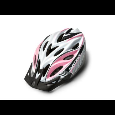 Велошлем Kross REMONTE, размер L(58-61), белый, T4CKS000065LWHВелошлемы<br>Характеристики  <br> Размер: L(58-61)<br> Цвет:  белый<br>