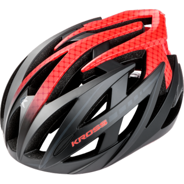 Велошлем Kross STIFF, размер M(54-58), красный, T4CKS000060MRDВелошлемы<br>Характеристики  <br> Размер: M(54-58) <br> Цвет: красный<br>