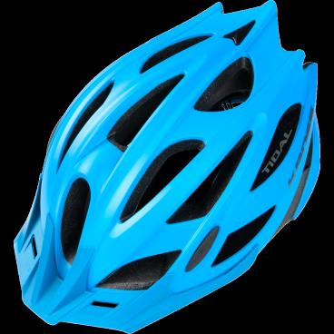 Велошлем Kross TIDAL, размер L(58-62), синий, T4CKS000061LBLВелошлемы<br>Характеристики  <br> Размер: L(58-62) <br> Цвет: синий<br>