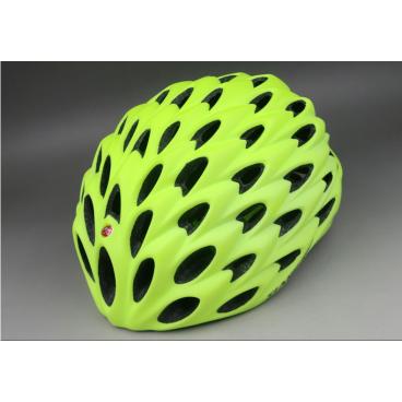 Велошлем C-Original SV000, размер L, матовый желтый, SV000MTYEFLLВелошлемы<br>Шоссейный велошлем, с высокой степенью защиты и отлицными аэродинамическими свойствами<br>Велошлем C ORIGINALS SV000 предназначен для любителей высокого уровня и будет отличным выбором для тренировок и соревнований. <br>Система регулировки обеспечивает удобную и плотную посадку на голове.  <br>Внутренний наполнитель из высокотехнологичного материала HI-EPS<br>Узнаваемый дизайн, высокий стандарт безопасности и низкий вес <br>Вентеляционные отверстия расположены таким образом, что бы воздушный поток максимально охолождал голову, при этом не создавая излишнего аэро-сопротивления. <br>Удобная регулировка ремешка, для затяжки на подбородке.<br>Подшлемник изготовлен из гипоаллергенных материалов. <br>  Характеристики  <br> Размер: L(58-62) <br> Цвет: матовый желтый<br>