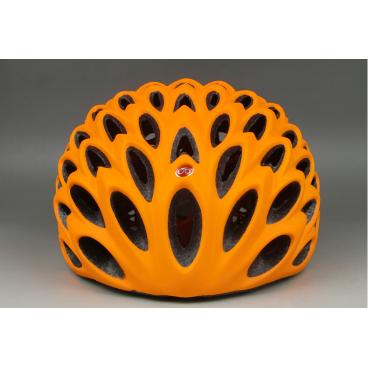 Велошлем C-Original SV000, размер M/L, матовый оранжевый, SV000MTORGMLВелошлемы<br>Шоссейный велошлем, с высокой степенью защиты и отлицными аэродинамическими свойствами<br>Велошлем C ORIGINALS SV000 предназначен для любителей высокого уровня и будет отличным выбором для тренировок и соревнований. <br>Система регулировки обеспечивает удобную и плотную посадку на голове.  <br>Внутренний наполнитель из высокотехнологичного материала HI-EPS<br>Узнаваемый дизайн, высокий стандарт безопасности и низкий вес <br>Вентеляционные отверстия расположены таким образом, что бы воздушный поток максимально охолождал голову, при этом не создавая излишнего аэро-сопротивления. <br>Удобная регулировка ремешка, для затяжки на подбородке.<br>Подшлемник изготовлен из гипоаллергенных материалов. <br>  Характеристики  <br> Размер: М/L<br> Цвет: матовый оранжевый<br>