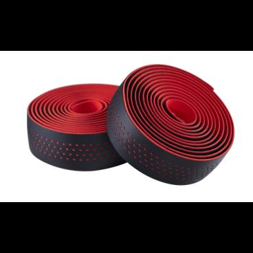 Обмотка на руль велосипедная Merida Microfiber, with Shockproof Pro, черно-красный, 2057006351Ручки и Рога<br>Перфорированная обмотка для руля Merida.<br>Материал: микрофибра со специальным материалом Shockproof.<br>Хорошо отводит влагу от рук, обладает ударопоглощающим свойством - руки намного меньше утомляются при езде по неровным поверхностям.<br>Цвет: черно-красный<br>