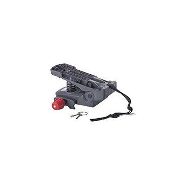 Адаптор для крепления на багажник HAMAX CARESS CARRIER ADAPTER, серый, р:one size, 604011Детское велокресло<br>Адаптер для велокресла Caress ( 25-30 кг). <br>Крепление для труб от 10 до 20 мм<br>