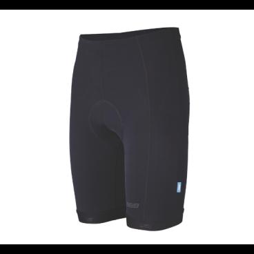 Велошорты BBB BBW-214, shorts Powerfil, размер L, черные, мужские, 2906921414Велошорты<br>Велошорты начального уровня.<br>Сделаны из высококачественного материала для поддержки мышц.<br>Мужской памперс анатомической формы, из пены высокой плотности.<br>Очень комфортная эластичная полоска с силиконовым принтом для удержания от смещения.<br>Плоские швы для максимального комфорта.<br>10-ти панельный крой для идеальной посадки.<br>Светоотражающие вставки.<br>Размеры:  L<br>Цвет: чёрный<br>