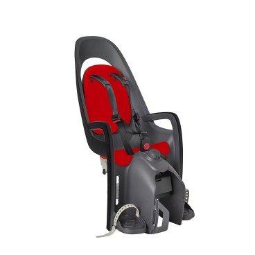 Детское велокресло на подседельную трубу HAMAX CARESS с адаптером для багажн. ,серый/красный, 553013Детское велокресло<br>Детское кресло, которое можно установить на велосипед с рамой 28-40мм<br>Велокресло устанавливается на задний багажник. Максимальный вес ребенка - 25--30 кг (зависит от параметров багажника).<br>Возможна установка на e-bike и другие типы велосипедов, подседельная труба которых более 40 мм в диаметре. <br>Минимальная требуемая ширина багажника -- 120 мм.<br>Быстрая установка. <br>Адаптер для установки в комплекте<br>Может быть установлен на электровелосипед<br>Вес ребенка: не более 25-30 кг. Рост ребенка: 120-180см<br>Есть положение сон<br>Простой монтаж<br>