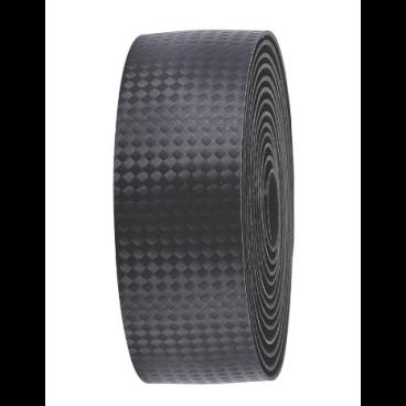 Обмотка руля велосипедная BBB h.bar tape RaceRibbon, карбоновая текстура, черный, BHT-04Ручки и Рога<br>Карбоновая текстура.<br>Легкий PU материал.<br>Легко моются.<br>В комплекте фиксирующая лента и заглушки руля.<br>Цвета: черный<br>