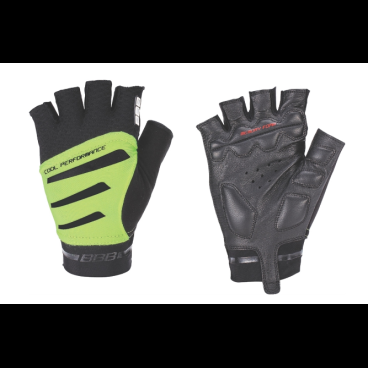 Перчатки велосипедные BBB Equipe, черный/неоновый/желтый, US:XL, BBW-48Велоперчатки<br>Высокотехнологичные профессиональные легкие перчатки.<br>Кожаная ладонь со вставками с эффектом памяти для максимального комфорта.<br>Вставка для удаления влаги/пота.<br>Петли между пальцами для легкого снятия перчаток.<br>Тыльная сторона из дышащей, эластичной лайкры и сетки обеспечивает комфорт и полную свободу движений.<br>Эластичные застежки велькро (Система WristLock).<br>Размеры: XL<br>Цвета:  черный/неоновый желтый<br>