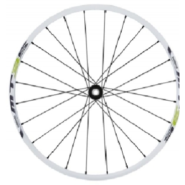 Комплект колес велосипедные Shimano MT35, диаметр 26, C.Lock, алюминий, EWHMT35FR6QEКолеса для велосипеда<br>Комплект колес Shimano MT35, переднее и заднее, 26 дюймов, под дисковые тормоза - крепление ротора C.Lock, цвет белый, с ободной лентой. Хорошо сбалансированные, долговечные, прочные. Обода, втулки и спицы собственного производства. Спицевание 24*28спиц с алюминиевыми ниппелями.Радиально-упорные подшипники с высококачественным двух контактным пыльником. Профиль обода шириной 24,6 мм <br>ТипCentreLock<br>МатериалАлюминий<br>Диаметр колеса26<br>ОпцияShimano Freehub<br>Масса2.7 кг<br>