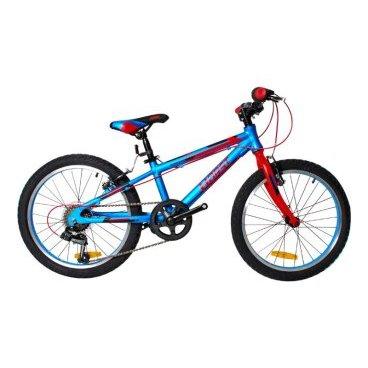 Детский велосипед HORST Hummel 20 2017Детские<br>Велосипед HORST HUMMEL на 20-дюймовых колесах – это настоящий горный велосипед для детей 6-9 лет. Легкая алюминиевая рама, 7 скоростей и мощнее шины позволят юному спортсмену преодолеть в седле любую трассу. Из дополнительного оборудования лишь самый минимум: подножка и защитное кольцо на звездах.<br>Модельный год2017<br>Рама (размеры)Алюминиевая (сплав 6061), колеса 20<br>ВилкаHORST, жесткая стальная<br>Рулевая колонкаFEIMIN, 1-1/8<br>Руль / выносHORST, ширина 560 мм, стальной / HORST, алюминиевый<br>КареткаYONGLING D-3<br>ЦепьKMC Z33<br>ВтулкиSHUNFENG, 28 отверстий<br>МанеткиSHIMANO Revoshift<br>Передний переключатель-<br>Задний переключательSHIMANO TY21<br>КассетаSHUNFEN, 14-28 зубьев, 7 звезд<br>ТормозаSPARKLE, V-brake, ободные<br>Тормозные ручкиLIMENG<br>Система36 зубьев, 140 мм шатуны<br>Обода28 отверстий, алюминиевые<br>ПокрышкиFEIYADA, 20x2.125<br>ПедалиFEIMIN, пластмассовые<br>Количество скоростей7<br>