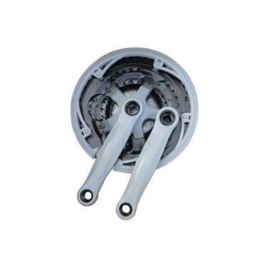 Система LIDE, под квадрат, 170 мм, звёзды 28/38/48T, сталь+пластик, с защитой, под ось 3U, P392-YWСистемы<br>Система шатунов и звезд является одним из важнейших (после рамы и вилки) элементов велосипеда. Только благодаря ней усилие от ног велосипедиста передается к колесам, приводя велосипед в движение.<br><br>Система LIDE<br>Под квадрат<br>Шатун 170 мм,<br>Звёзды 28/38/48T<br>Сталь+пластик<br>С защитой<br>Под ось 3U<br>
