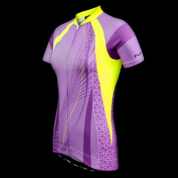 Велофутболка FunkierBike Purple Pro WJ782, женская, L, сиреневая, 15-202Велофутболка<br>Велофутболки созданы для тех, кто любит кататься и при этом чувствовать себя комфортно и уютно на большой скорости или во время исполнения трюков. Если вы новичок, любитель или профессионал то купить велофутболку более чем обязательное дело.<br><br>Велофутболки сделаны для того, чтобы получать удовольствие от катания на велосипеде не отвлекаясь на дискомфорт и неудобства обычной одежды. Как правило большинство велофутболок отличаются кроем: более свободным для небольших нагрузок и обтягивающим для веломарафонов или заездов, где требуется выложиться на все 100%. Функция велофутболки это вентиляция тела, отвод влаги и охлаждение в жаркую погоду. <br><br>Велофутболка FunkierBike Purple Pro WJ782<br>Женская<br>Размер L<br>Цвет: сиреневая<br>
