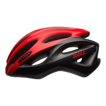 Велосипедный Шлем Bell 17 DRAFT АКТИВНЫЙ ОТДЫХ матовый красный/черный. размер U. BE7078282Велошлемы<br>Шлем Bell 17 DRAFT АКТИВНЫЙ ОТДЫХ муж./жен. Матовый  красный/черный Размер U<br>Универсальный шлем Bell Draft для поездок на прогулочном и дорожном велосипеде. Классическая обтекаемая форма подходит для города и загородных поездок.<br>Отличительные особенности<br>Регулировка подгонки по голове одной рукой ErgoFit® System<br>25 вентиляционных отверстия для комфорта в жаркую погоду<br>Внешняя оболочка из поликарбоната для прочности конструкции<br>Мягкий материал лямок не растягивается от пота или воды<br>Универсальное ежедневное применение<br>Рассчитан на мужчин и женщин<br>Технические характеристики<br>Модель: Bell Draft<br>Подгонка посадки:универсальная ErgoFit® System<br>Характеристики: Extended In-Mold Polycarbonate Shell<br>Материал: оболочка поликарбонат, внутренний SoftFoam пенный пластик<br>Вентиляция: 25 каналов<br>Применение: универсальный, город, фитнес, туризм<br>Размеры: U (54-61 см)<br>Вес:273 г<br>