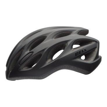 Велосипедный Шлем Bell 17 DRAFT АКТИВНЫЙ ОТДЫХ матовый черный. размер U. BE7078279Велошлемы<br>Шлем Bell 17 DRAFT АКТИВНЫЙ ОТДЫХ муж./жен. Матовый черный. Размер U<br>Описание<br>Универсальный шлем Bell Draft для поездок на прогулочном и дорожном велосипеде. Классическая обтекаемая форма подходит для города и загородных поездок.<br>Отличительные особенности<br>Регулировка подгонки по голове одной рукой ErgoFit® System<br>25 вентиляционных отверстия для комфорта в жаркую погоду<br>Внешняя оболочка из поликарбоната для прочности конструкции<br>Мягкий материал лямок не растягивается от пота или воды<br>Универсальное ежедневное применение<br>Рассчитан на мужчин и женщин<br>Технические характеристики<br>Модель: Bell Draft<br>Подгонка посадки: универсальная ErgoFit® System<br>Характеристики: Extended In-Mold Polycarbonate Shell<br>Материал: оболочка поликарбонат, внутренний SoftFoam пенный пластик<br>Вентиляция: 25 каналов<br>Применение: универсальный, город, фитнес, туризм<br>Размеры: U (54-61 см)<br>Вес: 273 г<br>