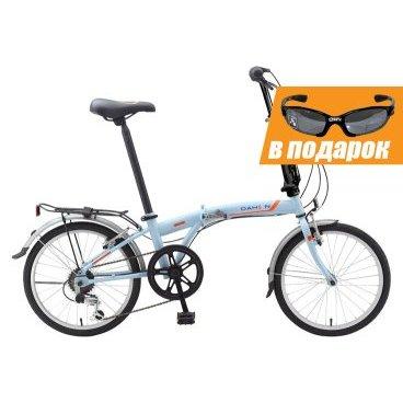 Складной велосипед Dahon S.U.V. 2015Cкладные<br>20-дюймовые колёса компактны, но могут быстро покрывать большие расстояния. Размеры S.U.V. позволяют легко маневрировать среди машин, хранить его в трейлере и прокатиться по дощатым настилам пляжа. Это велосипед, который позволит Вам увидеть мир! Вес велосипеда 13,4 кг. Максимальный вес велосипедиста 105 кг. В комплектацию велосипеда не входят багажник и крылья.<br><br><br><br><br><br>Общие характеристики<br><br><br>Модель<br>2015 года<br><br><br>Тип<br>для взрослых<br><br><br>Область применения<br>дорожный, городской<br><br><br>Вес велосипеда<br>13.4 kg<br><br><br>Рама, вилка<br><br><br>Складной<br>да<br><br><br>Материал рамы<br>Хром Молибден (сплав стали, усиленный)<br><br><br>Амортизация<br>отсутствует<br><br><br>Конструкция вилки<br>жесткая<br><br><br>Конструкция рулевой колонки<br>интегрированная, безрезьбовая<br><br><br>Колеса<br><br><br>Диаметр колес<br>20 дюймов<br><br><br>Наименование покрышек<br>DAHON Custom City 20 x 1.5<br><br><br>Материал обода<br>алюминиевый сплав<br><br><br>Двойной обод<br>нет<br><br><br>Наименование переднего тормоза<br>Winzip Alloy 110 mm V-Brakes<br><br><br>Тип переднего тормоза<br>ободной (V-Brake)<br><br><br>Уровень переднего тормоза<br>прогулочный<br><br><br>Наименование заднего тормоза<br>Winzip Alloy 110 mm V-Brakes<br><br><br>Тип заднего тормоза<br>ободной (V-Brake)<br><br><br>Уровень заднего тормоза<br>прогулочный<br><br><br>Трансмиссия<br><br><br>Количество скоростей<br>6<br><br><br>Уровень заднего переключателя<br>начальный<br><br><br>Уровень манеток<br>прогулочный<br><br><br>Наименование манеток<br>Shimano Revo Speed<br><br><br>Конструкция манеток<br>вращающаяся ручка<br><br><br>Уровень каретки<br>прогулочный<br><br><br>Тип посадочной части вала каретки<br>квадрат<br><br><br>Передняя втулка<br>DAHON Custom Compact, 28отверстий<br><br><br>Задняя втулка<br>DAHON Custom Compact, 28отверстий<br><br><br>Уровень кассеты<br>прогулочный<br><br><br>Количество звезд в кассете<br>6<br>