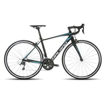 Шоссейный велосипед Upland Diana 300 28 2017Шоссейные<br>Upland DIANA 300<br>Upland DIANA 300 -&amp;nbsp; надежный шоссейный велосипед с колесами 28 . Прекрасно подойдет как для коротких прогулок, так и для велопоходов. Велосипед оснащен Алюминиевой рамой, что очень сильно снижает вес велосипеда и одновременно дает жесткость конструкции. На данный велосипед установленно оборудованием японской фирмы Shimano.&amp;nbsp; Надежные тормоза не дадут попасть в беду, а переключатели скоростей предоставят четкость переклюени и всё это благодаря японскому качеству.<br><br><br><br><br>Общие характеристики<br><br><br>Модель<br>2017 года<br><br><br>Тип<br>для взрослых<br><br><br>Область применения<br>шоссейный<br><br><br>Вес велосипеда<br>9.3 кг<br><br><br>Рама, вилка<br><br><br>Наименование рамы<br>LIGHT ALUMINIUM GW01 TB TAPER<br><br><br>Материал рамы<br>Алюминий<br><br><br><br>Амортизация<br>Жесткая<br><br><br>Наименование  вилки<br>FULL CARBON INCLUDE CARBON STEERER<br><br><br>Колеса<br><br><br>Диаметр колес<br>28 дюймов<br><br><br>Наименование колес<br>UPLAND A201SB<br><br><br>Наименование покрышек<br>SCHWALBE LUGANO 700C*25C<br><br><br>Торможение<br><br><br>Наименование переднего тормоза<br>TEKTRO R312<br><br><br>Тип переднего тормоза<br>клещевой<br><br><br>Уровень переднего тормоза<br>прогулочный<br><br><br>Наименование заднего тормоза<br>TEKTRO R312<br>&amp;nbsp;<br><br><br>Тип заднего тормоза<br>клещевой<br><br><br>Уровень заднего тормоза<br>прогулочный<br><br><br>Трансмиссия<br><br><br>Количество скоростей<br>20<br><br><br>Уровень заднего переключателя<br>прогулочный<br><br><br>Наименование заднего переключателя<br>TIAGRA<br><br><br>Уровень переднего переключателя<br><br><br><br><br>прогулочный<br><br><br><br><br><br><br>Наименование переднего переключателя<br>SHIMANO TIAGRA<br><br><br>Уровень манеток<br>прогулочные<br><br><br>Наименование манеток<br>SHIMANO TIAGRA<br><br><br>Система<br>SHIMANO TIAGRA 50/34T<br><br><br>Тип посадочной части вала каретки<br>Hollowtech II<