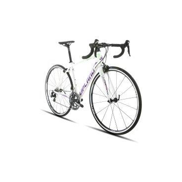 Шоссейный велосипед Upland Diana 500 28 2017Шоссейные<br>Upland DIANA 500<br>Upland DIANA 500-&amp;nbsp; надежный шоссейный велосипед с колесами 28 . Прекрасно подойдет как для коротких прогулок, так и для велопоходов. Велосипед оснащен Алюминиевой рамой, что очень сильно снижает вес велосипеда и одновременно дает жесткость конструкции. На данный велосипед установленно оборудованием японской фирмы Shimano.&amp;nbsp; Надежные тормоза не дадут попасть в беду, а переключатели скоростей предоставят четкость переклюени и всё это благодаря японскому качеству.<br>&amp;nbsp;<br><br><br><br><br>Общие характеристики<br><br><br>Модель<br>2017 года<br><br><br>Тип<br>для взрослых<br><br><br>Область применения<br>шоссейный<br><br><br>Вес велосипеда<br>9.2 кг<br><br><br>Рама, вилка<br><br><br>Наименование рамы<br>LIGHT ALUMINIUM GW01 TB TAPER<br><br><br>Материал рамы<br>Алюминий<br><br><br>Размеры рамы<br>18.0<br><br><br>Амортизация<br>Hard tail (с амортизационной вилкой)<br><br><br>Наименование мягкой вилки<br>FULL CARBON INCLUDE CARBON STEERER<br><br><br>Колеса<br><br><br>Диаметр колес<br>28 дюймов<br><br><br>Наименование колес<br>SHIMANO WH-RS11<br><br><br>Наименование покрышек<br>SCHWALBE &amp;nbsp;LUGANO 700C*25C<br><br><br>Торможение<br><br><br>Наименование переднего тормоза<br>FSA GOSSAMER<br><br><br>Тип переднего тормоза<br>клещевой<br><br><br>Уровень переднего тормоза<br>прогулочный<br><br><br>Наименование заднего тормоза<br>FSA GOSSAMER<br>&amp;nbsp;<br><br><br>Тип заднего тормоза<br>клещевой<br><br><br>Уровень заднего тормоза<br>прогулочный<br><br><br>Трансмиссия<br><br><br>Количество скоростей<br>22<br><br><br>Уровень заднего переключателя<br>прогулочный<br><br><br>Наименование заднего переключателя<br>SHIMANO&amp;nbsp;105<br><br><br>Уровень переднего переключателя<br><br><br><br><br>прогулочный<br><br><br><br><br><br><br>Наименование переднего переключателя<br>SHIMANO&amp;nbsp;105<br><br><br>Уровень манеток<br>прогулочные<br><br><br>Наименование манеток<br>SHIMANO&amp