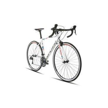 Шоссейный велосипед Upland Impreza 200 28 2017Шоссейные<br>Upland Impreza 200<br>Upland Impreza 200-&amp;nbsp; надежный шоссейный велосипед с колесами 28 . Прекрасно подойдет как для коротких прогулок, так и для велопоходов. Велосипед оснащен Алюминиевой рамой, что очень сильно снижает вес велосипеда и одновременно дает жесткость конструкции. На данный велосипед установленно оборудованием японской фирмы Shimano.&amp;nbsp; Надежные тормоза не дадут попасть в беду, а переключатели скоростей предоставят четкость переклюени и всё это благодаря японскому качеству.<br>&amp;nbsp;<br><br><br><br><br>Общие характеристики<br><br><br>Модель<br>2017 года<br><br><br>Тип<br>для взрослых<br><br><br>Область применения<br>шоссейный<br><br><br>Вес велосипеда<br>9.5 кг<br><br><br>Рама, вилка<br><br><br>Наименование рамы<br>LIGHT ALUMINIUM GW01 TB<br><br><br>Материал рамы<br>Алюминий<br><br><br>Размеры рамы<br>19.0<br><br><br>Амортизация<br>Hard tail (с амортизационной вилкой)<br><br><br>Наименование мягкой вилки<br>ONE PIECE RACE FORK<br><br><br>Колеса<br><br><br>Диаметр колес<br>28 дюймов<br><br><br>Наименование колес<br>NOVATEC RNA23C<br><br><br>Наименование покрышек<br>KENDA 700C*25C<br><br><br>Торможение<br><br><br>Наименование переднего тормоза<br>PROMAX RC462<br><br><br>Тип переднего тормоза<br>клещевой<br><br><br>Уровень переднего тормоза<br>прогулочный<br><br><br>Наименование заднего тормоза<br>PROMAX RC462<br>&amp;nbsp;<br><br><br>Тип заднего тормоза<br>клещевой<br><br><br>Уровень заднего тормоза<br>прогулочный<br><br><br>Трансмиссия<br><br><br>Количество скоростей<br>18<br><br><br>Уровень заднего переключателя<br>прогулочный<br><br><br>Наименование заднего переключателя<br>SHIMANO&amp;nbsp;SORA<br><br><br>Уровень переднего переключателя<br><br><br><br><br>прогулочный<br><br><br><br><br><br><br>Наименование переднего переключателя<br>SHIMANO&amp;nbsp;SORA<br><br><br>Уровень манеток<br>прогулочные<br><br><br>Наименование манеток<br>SHIMANO&amp;nbsp;SORA<br><br><br>Система<br>S