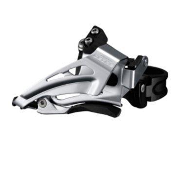 Переключатель передний SHIMANO Deore, для 2x10, нижний хомут(34,9 с адапт 28.6/31.8), IFDM618LX6Переключатели скоростей на велосипед<br>Бренд: Shimano<br>Тип велосипеда: Горный<br>Серия: Deore<br>Тяга: Нижняя<br>Количество скоростей: 2х10<br>Тип переключателя: Передний<br>
