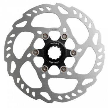 Тормозной диск SHIMANO SLX, RT70, 203мм, C.Lock, ISMRT70LТормоза на велосипед<br>Тормозной диск Shimano SLX SM-RT70 203мм, тип крепления Center Lock<br>
