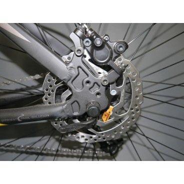 Горный велосипед Upland Vanguard 500-650B 27,5 2017Горные (MTB)<br>Upland Vanguard 500-650B<br>Upland Vanguard 500-650B надежный горный велосипед с колесами 27.5 дюймов. Велосипед оснащен оборудованием&amp;nbsp; фирмы Shimano, надежными дисковыми гидравличкскими тормозами, амортизационной вилкой c ходом 100 мм, масляной пружиной и возможностью ее блокировки. Материал рамы - алюминий, это обеспечивает снижение веса всей конструкции и придает ей необходимую жесткость<br><br>&amp;nbsp;<br><br><br><br><br>Общие характеристики<br><br><br>Модель<br>2017 года<br><br><br>Тип<br>для взрослых<br><br><br>Область применения<br>Горный<br><br><br>Вес велосипеда<br>13.9 кг<br><br><br>Рама, вилка<br><br><br>Наименование рамы<br>LIGHT ALUMINIUM GW01 TB TAPER<br><br><br>Материал рамы<br>Алюминий<br><br><br>Размеры рамы<br>17.5<br><br><br>Наименование вилки<br>SR SUNTOUR XCT-HLO LOCKOUT<br><br><br>Амортизация<br>Hard tail (с амортизационной вилкой)<br><br><br>Тип вилки<br>масляная<br><br><br>Ход вилки<br>100 мм<br><br><br>Колеса<br><br><br>Диаметр колес<br>27.5 дюймов<br><br><br>Наименование колес<br>UPLAND 29A W/KT HUBS<br><br><br>Наименование покрышек<br>KENDA 27.5*2.1<br><br><br>Торможение<br><br><br>Наименование тормоза<br>SHIMANO HYDRAULIC DISC<br><br><br>Тип тормоза<br>дисковый гидравлический<br><br><br>Уровень тормоза<br>прогулочный<br><br><br>Трансмиссия<br><br><br>Количество скоростей<br>27<br><br><br>Уровень переключателя<br>прогулочный<br><br><br>Наименование заднего переключателя<br>SHIMANO RD-M370<br><br><br>Наименование переднего переключателя<br>SHIMANO FD-M370<br><br><br>Уровень манеток<br>прогулочный<br><br><br>Наименование манеток<br>SHIMANO SL-M370<br><br><br>Система<br>UPLAND INTEGRATED BB<br><br><br>Тип посадочной части вала каретки<br>Hollowtech<br><br><br>Количество звезд системы<br>3, число зубьев 44-32-22<br><br><br>Конструкция педалей<br>классическая<br><br><br>Руль<br><br><br>Наименование руля<br>UPLAND HB024<br><br><br>Конструкция руля<br>прямой<br><br><br>