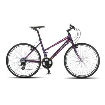 Женский велосипед Upland LS 360-L  26 2017Горные (MTB)<br>Upland LS 360-L<br>Upland LS 360-L - надежный и стильный велосипед для женщин с колесами 26 дюймов. Велосипед прекрасно подходит как для прогулок в городе, так и для езды по бездорожью, так же он оснащен оборудованием японской фирмы Shimano. Материал рамы - алюминий, это обеспечивает снижение веса всей конструкции и придает ей необходимую жесткость<br><br>&amp;nbsp;<br><br><br><br><br>Общие характеристики<br><br><br>Модель<br>2017 года<br><br><br>Тип<br>для женщин<br><br><br>Область применения<br>Горный<br><br><br>Вес велосипеда<br>11.1 кг<br><br><br>Рама, вилка<br><br><br>Наименование рамы<br>LIGHT ALUMINIUM G6065 TB<br><br><br>Материал рамы<br>Алюминий<br><br><br>Размеры рамы<br>17<br><br><br>Наименование вилки<br>ALLOY FORK FOR V-BRAKE<br><br><br>Колеса<br><br><br>Диаметр колес<br>26 дюймов<br><br><br>Наименование колес<br>UPLAND 08A W/KT HUBS<br><br><br>Наименование покрышек<br>KENDA 26*1.5<br><br><br>Торможение<br><br><br>Наименование тормоза<br>ARTEK 207DG V-BRAKE<br><br><br>Тип тормоза<br>Ободные<br><br><br>Уровень тормоза<br>прогулочный<br><br><br>Трансмиссия<br><br><br>Количество скоростей<br>24<br><br><br>Уровень переключателя<br>прогулочный<br><br><br>Наименование заднего переключателя<br>SHIMANO RD-310<br><br><br>Наименование переднего переключателя<br>SHIMANO FD-TX51<br><br><br>Уровень манеток<br>прогулочный<br><br><br>Наименование манеток<br>SHIMANO ST-EF65-24<br><br><br>Система<br>PROWHEEL MY-AD41<br><br><br>Тип посадочной части вала каретки<br>Квадрат<br><br><br>Количество звезд системы<br>3, число зубьев 48-38-28<br><br><br>Конструкция педалей<br>классическая<br><br><br>Руль<br><br><br>Конструкция руля<br>прямой<br><br><br><br><br>&amp;nbsp;<br>