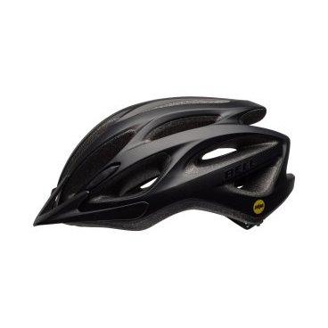 Велосипедный Шлем Bell 17 TRAVERSE MIPS АКТИВНЫЙ ОТДЫХ, матовый черный размер U. BE7078367Велошлемы<br>Описание<br>Универсальный шлем Bell Traverse MIPS для поездок на туристическом, прогулочном и дорожном велосипеде. Классическая обтекаемая форма подходит для города и загородных поездок.<br>Технология MIPS (Multi-Directional Impact Protection System) дополнительно защищает голову от разнонаправленных ударных вращательных воздействий.<br>Отличительные особенности<br>Технология MIPS для дополнительной защиты головы<br>Регулировка подгонки по голове одной рукой ErgoFit® System<br>22 канала вентиляции для комфорта в жаркую погоду<br>Внешняя оболочка из поликарбоната для прочности конструкции<br>Съёмный козырёк<br>Мягкий материал лямок не растягивается от пота или воды<br>Универсальное ежедневное применение<br>Рассчитан на мужчин и женщин<br>Технические характеристики<br>Модель Bell Traverse MIPS<br>Подгонка посадки универсальная ErgoFit® System <br>Характеристики Fusion In-Mold Polycarbonate Shell, MIPS<br>Материал оболочка поликарбонат, внутренний SoftFoam пенный пластик<br>Вентиляция 22 канала<br>Применение универсальный, город, фитнес, туризм<br>Размеры U (54-61 см)<br>Вес 326 г<br>