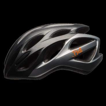 Велосипедный Шлем Bell 17 TEMPO АКТИВНИЙ ОТДЫХ  матовый черный/серебреный. размер U. BE7079650Велошлемы<br>Шлем Bell 17 TEMPO АКТИВНЫЙ ОТДЫХ муж./жен. матовый черный/серебристый  размер U<br>