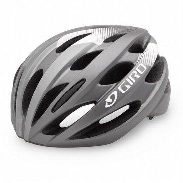 Велосипедный Шлем Giro 17 TRINITY, глянцевый титан, белый Размер U, GI7075617Велошлемы<br>Велосипедный Шлем Giro 17 TRINITY АКТИВНЫЙ ОТДЫХ жен. глянцевый титан./белый Размер U.<br>ОПИСАНИЕ<br>Trinity™ это шлем при создании которого мы не выбрали между комфортом и техноло-<br>гичностью. Он получил передовую конструкцию In-Mold и простую в использовании ре-<br>гулировку системы Roc Loc® Sport. Мы уверены, он не подведет вас, где бы вы ни были.<br>