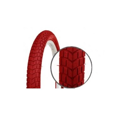 Велопокрышка детская Vinca, 16*2.125, красная, PQ-810 16*2.125 redВелопокрышки<br>Покрышка велосипедная <br>Размер: 16*2.125 <br>Цвет: красный<br>Артикул: PQ-810 16*2.125 red<br>