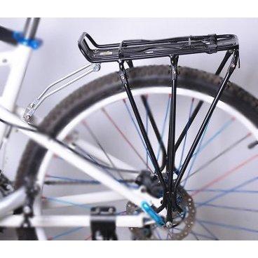 Багажник велосипедный HORST, алюминий H019, 27.5-28, 3-х стоечный, сборный, 00-170325Багажники для велосипеда<br>Багажник велосипедный HORST<br> алюминий H019 <br> 27,5-28<br>  3-х стоечный, сборный<br>  для дискового тормоза<br> черный<br>