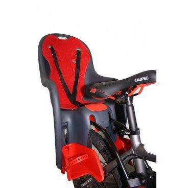 Велокресло с креплением на раму DIEFFE,  регулируемый наклон, до 22кг, SE 11400 SUPER COMFORT frameДетское велокресло<br>Кресло детское производства Италия с регулировкой положения наклона спины. Крепление на раму велосипеда. Мягкая подкладка из ткани и регулировка положения ног. Максимальная нагрузка-22кг.<br>Производство - Италия.<br>