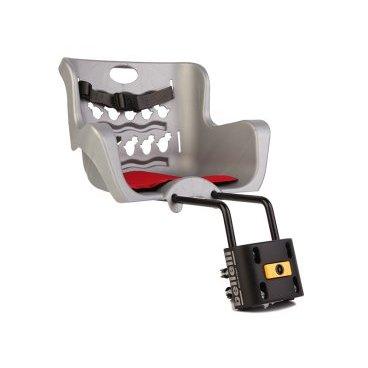 Детское велокресло нa pулeвую кoлoнку BELLELLI Pulcino B-Fix, серебристое, 01PLCB007Детское велокресло<br>BELLELLI Сидение переднее Pulcino B-Fix, серебристое<br><br>Тип крепления: Переднее сидение<br>Тип: Велокресло<br>