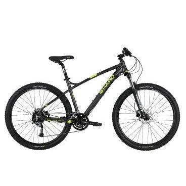Гибридный велосипед Haro Double Peak 27.Five Trail 27.5 2017Гибридные<br>Haro Double Peak 27.Five Trail 27.5<br>С таким байком, любые препятствия вам нипочем. Данная модель оборудована элегантной, легкой, алюминиевой рамой с достойным уровнем приводного оборудования. Пружинно-эластомерная амортизационная вилка ходом 100 мм имеет возможность гидравлической блокировки, что является очень полезной функцией для городской езды.<br><br><br><br><br><br>Общие характеристики<br><br><br><br>Модель<br><br>2017 года<br><br><br><br>Тип<br><br>для взрослых<br><br><br><br>Область применения<br><br>Горный гибрид<br><br><br><br>Рама, вилка<br><br><br><br>Наименование рамы<br><br>Haro Double Peak 27.5 6000 Series Alloy, w/ Chainstay Disc Brake Mount<br><br><br><br>Материал рамы<br><br>Алюминий<br><br><br><br>Размеры рамы<br><br>18<br><br><br><br>Амортизация<br><br>Hard tail (с амортизационной вилкой)<br><br><br><br>Вилка<br><br>Suntour XCT HLO, Post Mount,&amp;nbsp; с гидравлической блокировкой<br><br><br><br>Конструкция вилки<br><br>пружинно-масляная<br><br><br><br>Ход вилки<br><br>100 мм<br><br><br><br>Колеса<br><br><br><br>Диаметр колес<br><br>27.5 дюймов<br><br><br><br>Обода<br><br>Weinmann XM-25 Disc<br><br><br><br>Материал изготовления<br><br>сплав алюминия 6106-T6<br><br><br><br>Наименование покрышек<br><br>Kenda Honey Badger XC 27.5x2.05<br><br><br><br>Торможение<br><br><br><br>Наименование тормоза<br><br>Tektro Auriga HD-M285 Hydraulic, 160mm Rotors<br><br><br><br>Тип тормоза<br><br>гидравлический дисковый<br><br><br><br>Шифтеры(манетки)<br><br>Shimano SL-M370 3x9-Spd<br><br><br><br>Трансмиссия<br><br><br><br>Количество скоростей<br><br>27<br><br><br><br>Наименование заднего переключателя<br><br>Shimano Acera 9-Spd<br><br><br><br>Наименование передний переключателя<br><br>Shimano Altus M370<br><br><br><br>Система<br><br>SR Suntour XCT-414 42/34/24t<br><br><br><br>Количество звезд<br><br>3<br><br><br><br>Кассета<br><br>Shimano HG-200 9-Spd 11-34t<br><br><br><br>Цепь<br><br>KM