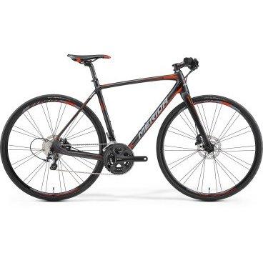 Шоссейный велосипед Merida Speeder 4000 2017Шоссейные<br>Merida Speeder 4000 2017 – это шоссейный велосипед, который создан для настоящих профессиональных велогонщиков. Позволит прийти первым к финишу 22-скоростная трансмиссия, а мгновенно среагировать при торможении в дождливую погоду дисковые гидравлические тормоза Shimano. Байк имеет надежные колеса диаметром 28 дюймов с цепкими покрышками Continental Ultra Sport II 28 fold и амортизационную вилку Race carbon disc 15, что сделает вашу поездку невероятно комфортной.<br>ТипШоссейные Шоссейные велосипеды<br>Рама и амортизаторы<br><br>РамаRace disc CF3 R12 [PF86]<br>ВилкаRace carbon disc 15<br>Цепная передача<br><br>МанеткиShimano SL-RS700 11<br>Передний переключательShimano 105<br>Задний переключательShimano Ultegra SS<br>КареткаShimano Pressfit<br>КассетаShimano CS-5800-11 11-28<br>Количество скоростей22<br>ЦепьKMC X11<br>Колеса<br><br>Диаметр28.0<br>ОбодаMerida Expert 22 SL disc pair<br>СпицыDouble Butted Black stainless<br>ВтулкаCenterlock-15<br>ПокрышкаContinental Ultra Sport II 28 fold<br>Компоненты<br><br>Передний тормозShimano M447 160 cen<br>Задний тормозShimano M447 160 cen J<br>ГрипсыMerida Custom faom grip<br>РульMERIDA Expert OS 600 Flat<br>Рулевая колонкаBig Conoid S-bearing neck pro<br>СедлоPrologo Kappa 3<br>Подседельный штырьMERIDA carbon Expert SB15 27.2<br>РазработкаТайвань<br>ПроизводствоКНР (Тайвань)<br>