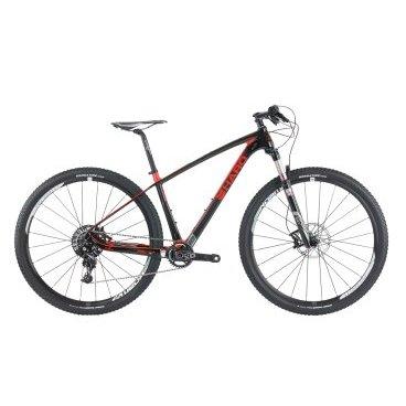Горный велосипед Haro FLC PRO 29 2017Горные (MTB)<br>Haro FLC Pro 29 2017 <br>Haro FLC Pro 29 2017 - манёвренная горная модель, которая способна преодолевать самые сложные маршруты. Рама выполнена из сверхпрочного карбона. Вилка Rock Shox Reba RL 29 Tapered с ходом 100 мм делает езду на велосипеде максимально комфортной. За четкое переключение 11 скоростей отвечает трансмиссия Sram X01. Дисковые гидравлические тормоза обеспечивают быструю и безопасную остановку. - 29 - дюймовые колеса укомплектованы ободами Sram Roam. Фирменные покрышки обеспечивают надежное сцепление с дорогой. <br><br><br><br><br><br>Общие характеристики<br><br><br><br>Модель<br><br>2017 года<br><br><br><br>Тип<br><br>для взрослых<br><br><br><br>Область применения<br><br>Горный<br><br><br><br>Рама, вилка<br><br><br><br>Наименование рамы<br><br>Haro FL Carbon 29 Series w/ Tapered Head Tube, BB92, 12mm Rear Thru-Axle, Direct Mount Front Derailleur, Internal Cable Routing<br><br><br><br>Материал рамы<br><br>Карбон<br><br><br><br>Размеры рамы<br><br>17<br><br><br><br>Амортизация<br><br>Hard tail (с амортизационной вилкой)<br><br><br><br>Вилка<br><br>Rock Shox Reba RL 29 Tapered<br><br><br><br>Конструкция вилки<br><br>воздушная<br><br><br><br>Ход вилки<br><br>100 мм<br><br><br><br>Диаметр трубы вилки<br><br> 1 1/8<br><br><br><br>Колеса<br><br><br><br>Диаметр колес<br><br>29 дюймов<br><br><br><br>Обода<br><br>Sram Roam 30<br><br><br><br>Материал изготовления<br><br>сплав алюминия<br><br><br><br>Наименование покрышек<br><br>Kenda Honey Badger XC 29x2.05<br><br><br><br>Торможение<br><br><br><br>Наименование тормоза<br><br>Sram Guide RS 180/160mm<br><br><br><br>Тип тормоза<br><br>гидравлический дисковый<br><br><br><br>Шифтеры(манетки)<br><br>Sram X01 Trigger 11-Spd<br><br><br><br>Трансмиссия<br><br><br><br>Количество скоростей<br><br>11<br><br><br><br>Наименование заднего переключателя<br><br>Sram X01<br><br><br><br>Система<br><br>Sram X01 32t <br><br><br><br>Количество звезд<br><br>1<br><br><br><br>Кассет